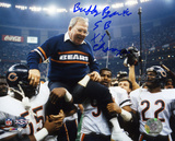 Buddy Ryan Chicago Bears  SB XX Champs Inscription
