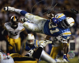 LaDainian Tomlinson San Diego Chargers - Action Autographed Photo (Hand Signed Collectable)