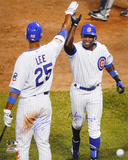 Alfonso Soriano & Derrek Lee Cubs Home Run Celebration Autographed Photo (Hand Signed Collectable)