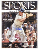 Duke Snider Dodgers Sports Illustrated 1955 WS Champs Autographed Photo (Hand Signed Collectable)