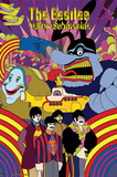 The Beatles (Yellow Submarine) 3-D Lenticular Poster