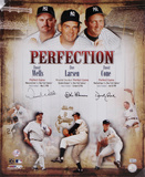 Don Larsen, David Cone and David Wells New York Yankees - Perfection