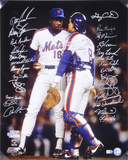 1986 New York Mets - Carter and Gooden -  Team Signed