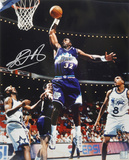 Karl Malone Utah Jazz - Slam Dunk Autographed Photo (Hand Signed Collectable)