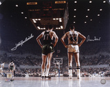Jerry West and John Havlicek Dual