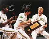 Kevin McHale and Robert Parish Boston Celtics  Big Three Inscription