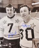 Phil Esposito and Tony Esposito Dual Autographed Photo (Hand Signed Collectable)