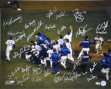 1986 New York Mets - Celebration On Mound - Team Signed Autographed Photo (Hand Signed Collectable)