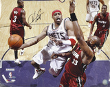 Vince Carter New Jersey Nets - Layup vs. Heat - Autographed Photo (Hand Signed Collectable)