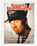 Cal Ripken Jr. Baltimore Orioles Sports Illustrated Autographed Photo (Hand Signed Collectable)