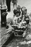 Lower East Side, New York City, 1937 (Kids in Wheelbarrow)