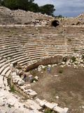 Amphitheatre at the Lycian Site of Patara, Near Kalkan, Antalya Province, Anatolia, Turkey