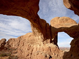 Double Arch, Arches National Park, Utah, United States of America, North America