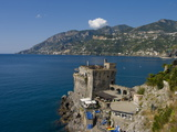 Buy Cetara Fort, Amalfi Coast, UNESCO World Heritage Site, Campania, Italy, Europe at AllPosters.com