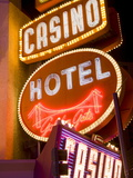 Neon Signs on Fremont Street, Las Vegas, Nevada, United States of America, North America