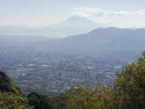 San Salvador City and Volcan De San Vincent (Chichontepec), 2182M, San Salvador, El Salvador