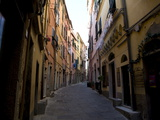 In the Streets of Portovenere, Liguria, Italy, Europe