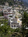 Buy San Luca Church in the Village of Praiano, Amalfi Coast, Campania, Italy, Europe at AllPosters.com