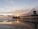 Huntington Beach Pier, California, United States of America, North America