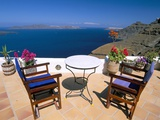 Fira, Island of Santorini (Thira), Cyclades Islands, Aegean, Greek Islands, Greece, Europe Photographic Print