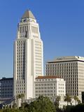 Los Angeles City Hall, California,United States of America, North America