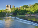 Durham Cathedral, and the River Wear, Durham, County Durham, England, Uk