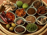 Spices Used in Thai Food, Thailand, Southeast Asia, Asia