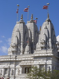 Shri Swaminarayan Mandir, Hindu Temple in Neasden, London, England, United Kingdom, Europe