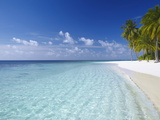 Tropical Island and Beach, Maldives, Indian Ocean, Asia