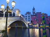 Buy Rialto Bridge on the Grand Canal, Venice, UNESCO World Heritage Site, Veneto, Italy, Europe at AllPosters.com