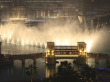 Dubai Fountain, Burj Khalifa Lake, Downtown, Dubai, United Arab Emirates, Middle East