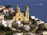 Buy The Church San Gennaro, Praiano, Amalfi Coast, Campania, Italy, Europe at AllPosters.com