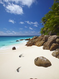 Deserted Beach, La Digue, Seychelles, Indian Ocean, Africa