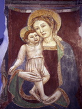 Buy Fresco of Madonna and the Child Jesus, Amalfi Cathedral, UNESCO World Heritage Site, Italy at AllPosters.com