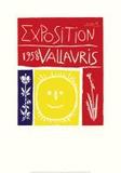 Vallauris Exposition, c.1958 Art Print