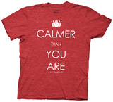 The Big Lebowski - Calmer Than You Are (Slim Fit)