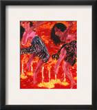 Nolde: Candledance, 1912 Framed Giclee Print