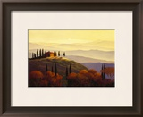 Tuscan Sunrise Framed Art Print