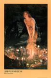Edward Robert Hughes (Midsummer Eve) Art Poster Print