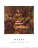 Buy Garden Path at Giverny at AllPosters.com