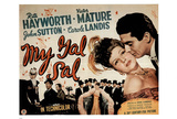 My Gal Sal Movie (Rita Hayworth & Victor Mature) Poster Print