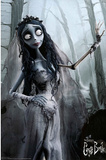 Corpse Bride Movie Bride in Woods Poster Print