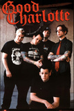 Good Charlotte Group Standing Music Poster Print