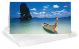 Phi Phi Island Panoramic Greeting Cards 12 Per Package