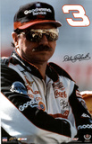 Dale Earnhardt (Portrait) Sports Poster Print