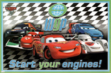Cars 2 Movie International Racers Poster Print