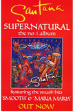 Santana (Supernatural - Promo) Huge Music Poster