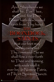 Boondock Saints Movie Cross and Prayer Poster Print