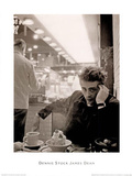 James Dean Smoking Dennis Stock