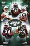 New York Jets Collage Sports Poster Print